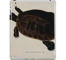 Tortoises terrapins and turtles drawn from life by James de Carle Sowerby and Edward Lear 040 iPad Case/Skin