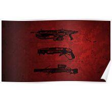 Gears of War -  Guns Poster