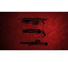 Gears of War -  Guns Photographic Print