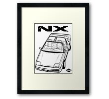 Nissan Pulsar NX Action Shot (LHD) Framed Print
