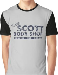 Keith Scott body shop service and repair Graphic T-Shirt