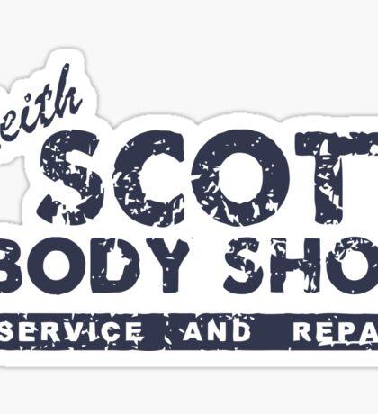Keith Scott body shop service and repair Sticker