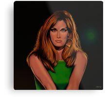 Dalida Portrait Painting Metal Print