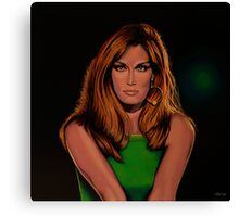 Dalida Portrait Painting Canvas Print