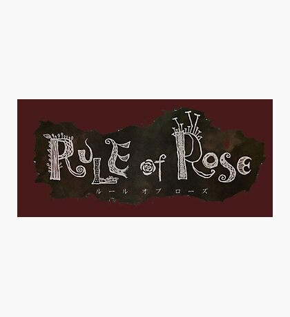 Rule of Rose Photographic Print