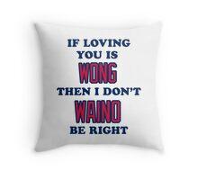 Cardinal Love Throw Pillow