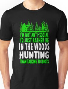 In The Woods Hunting T Shirt Unisex T-Shirt