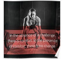In The Absence Of A Challenge Poster