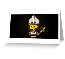 Pope Merch Greeting Card