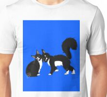 Two Cats Unisex T-Shirt