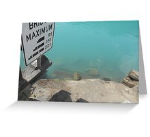 Bridge Maximum Greeting Card