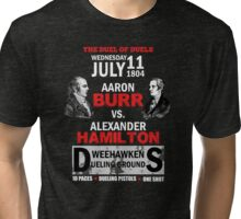 Hamilton Vs Burr Tri-blend T-Shirt
