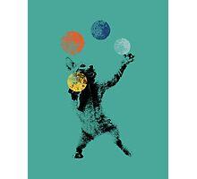 Juggling cat Photographic Print