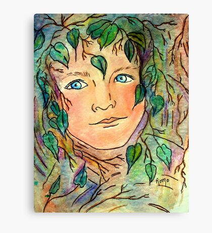 Forest Elf... Canvas Print