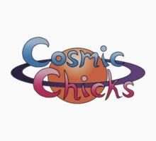Cosmic Chicks Logo Kids Tee