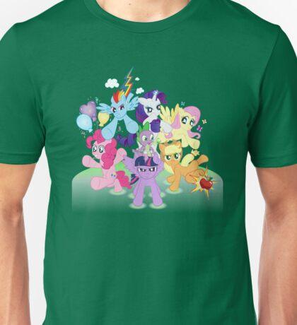 MLP - Mane 6 Unisex T-Shirt