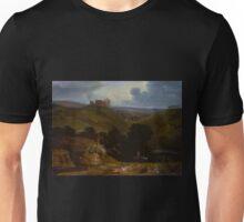 John Martin - Landscape with a Castle Unisex T-Shirt