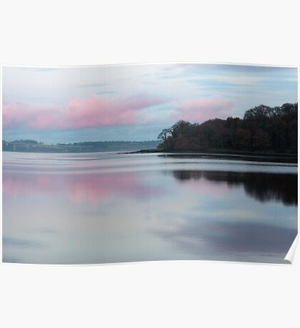 River Foyle, winter Poster