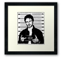 Wanted: McAvoy Framed Print