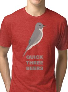 Olive-sided Flycatcher Call Tri-blend T-Shirt