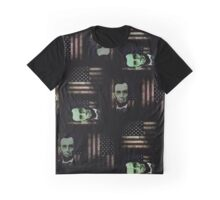 Abraham Lincoln - Zombie (Pattern 1) Graphic T-Shirt