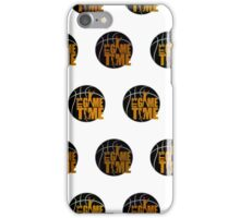 It's Game Time - Yellow (Pattern 1) iPhone Case/Skin