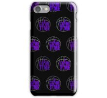 It's Game Time - Purple (Pattern 2) iPhone Case/Skin