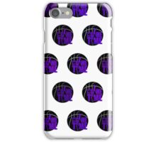 It's Game Time - Purple (Pattern 1) iPhone Case/Skin