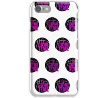 It's Game Time - Pink (Pattern 1) iPhone Case/Skin