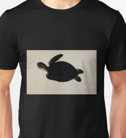 Tortoises terrapins and turtles drawn from life by James de Carle Sowerby and Edward Lear 059 Unisex T-Shirt
