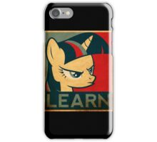 Brony - Learn iPhone Case/Skin