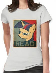 Brony - Read Womens Fitted T-Shirt