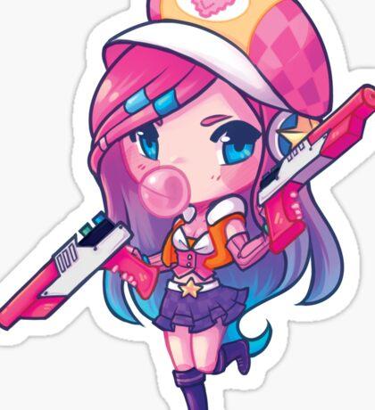 Arcade Miss Fortune Sticker Sticker