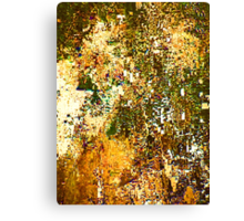 EXPLODING PUMPKIN (Painted Pixels) Canvas Print