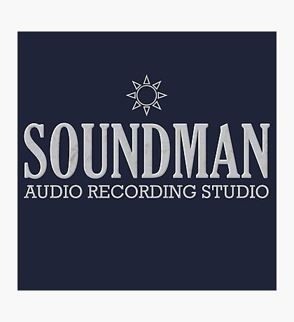 Cool Soundman Photographic Print