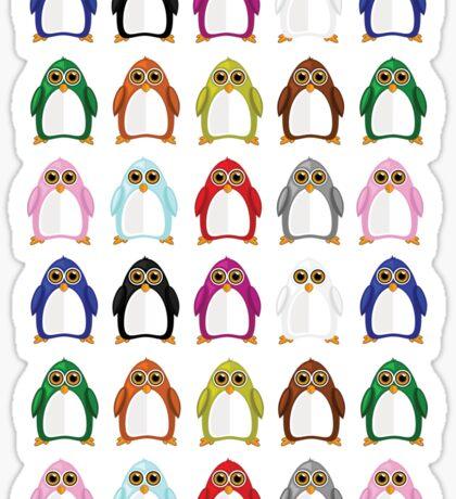 Penguin Variety Sticker