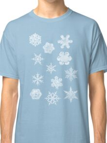Winter Snowflakes Classic T-Shirt