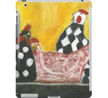 Some Painted Poultry:-) iPad Case/Skin