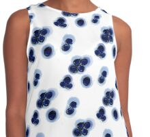 Blueberry stain Contrast Tank