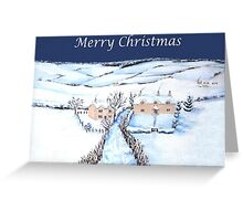 Winter in the Cotswolds Greeting Card