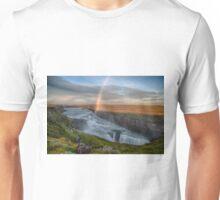 Golden Falls (Gullfoss), Iceland Unisex T-Shirt