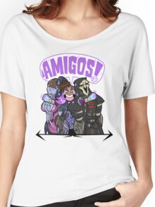 Amigos Women's Relaxed Fit T-Shirt