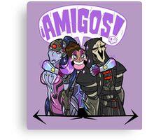 Amigos Canvas Print