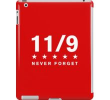 11/9 Never Forget iPad Case/Skin