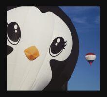 Penguin Balloon Baby Tee