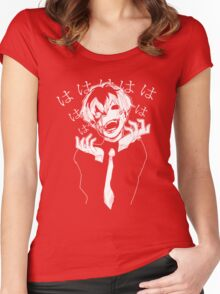 The laughing Ghoul Women's Fitted Scoop T-Shirt