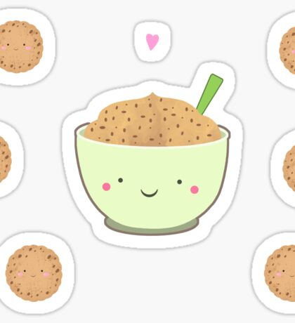 Cookie dough  bowl Sticker
