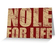 Nole for Life Greeting Card
