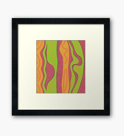 Playful harmony Framed Print