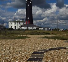 The Old Lighthouse, Dungeness by wiggyofipswich